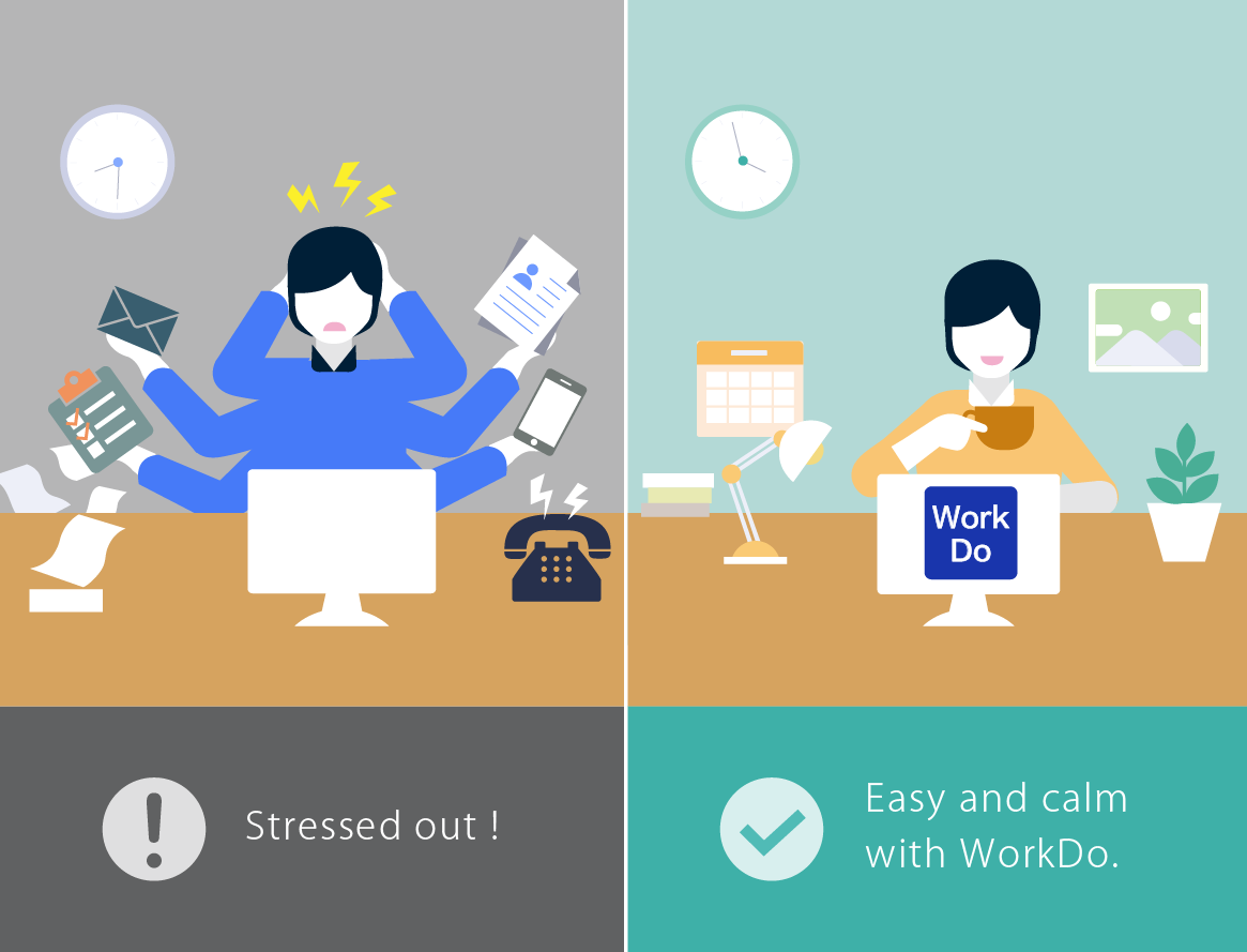 do work workdo workdo so you work in a team environment and you need a tool that can help make teamwork more organized more secure and more manageable than the popular consumer