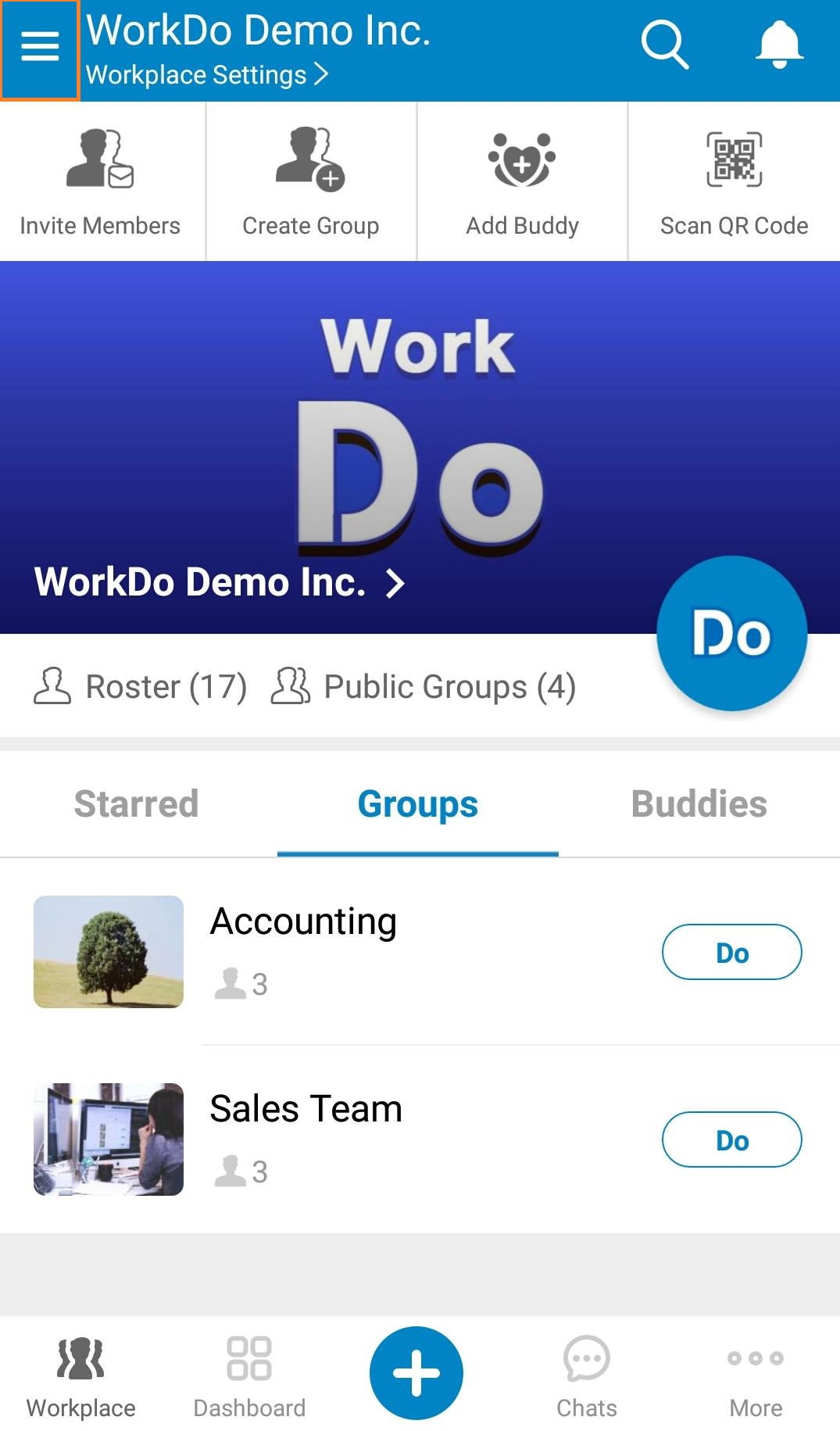 Mobile- Create Workplace 1