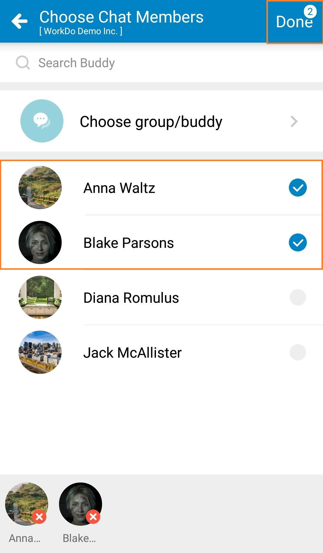 WorkDo-Create new chatroom 02