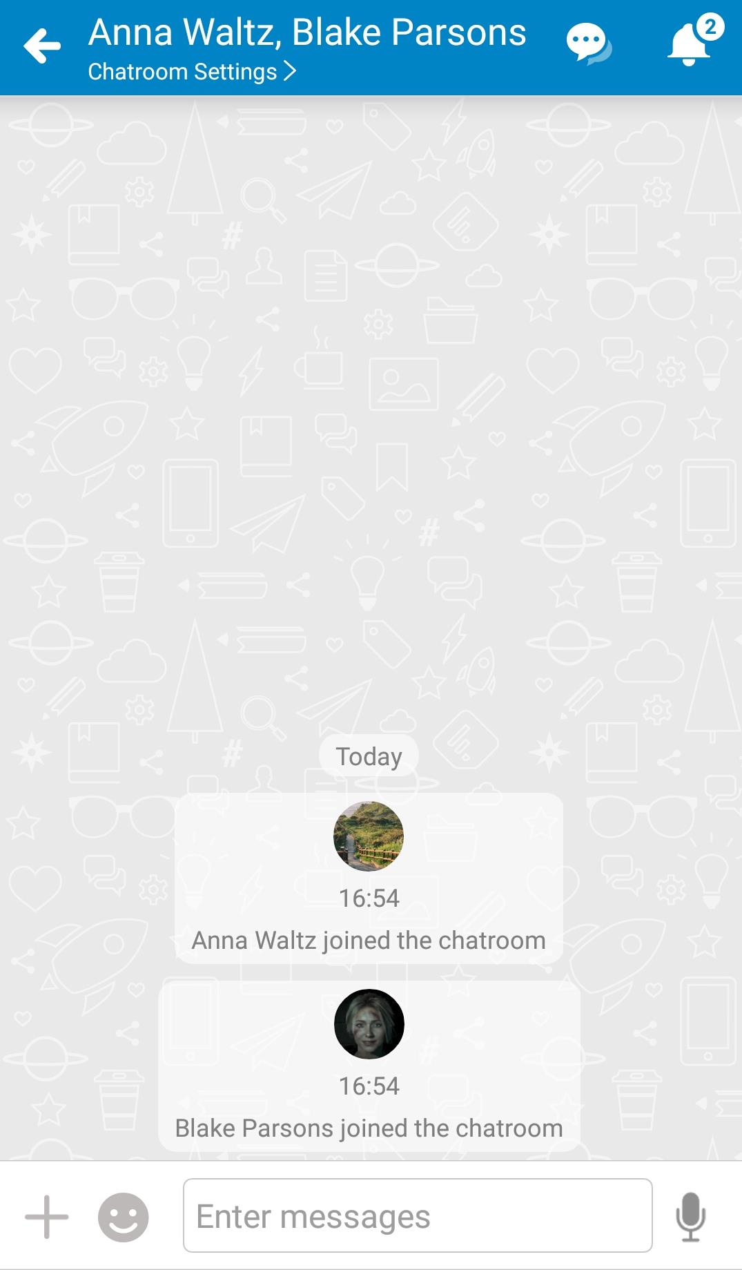 WorkDo-Create new chatroom 03