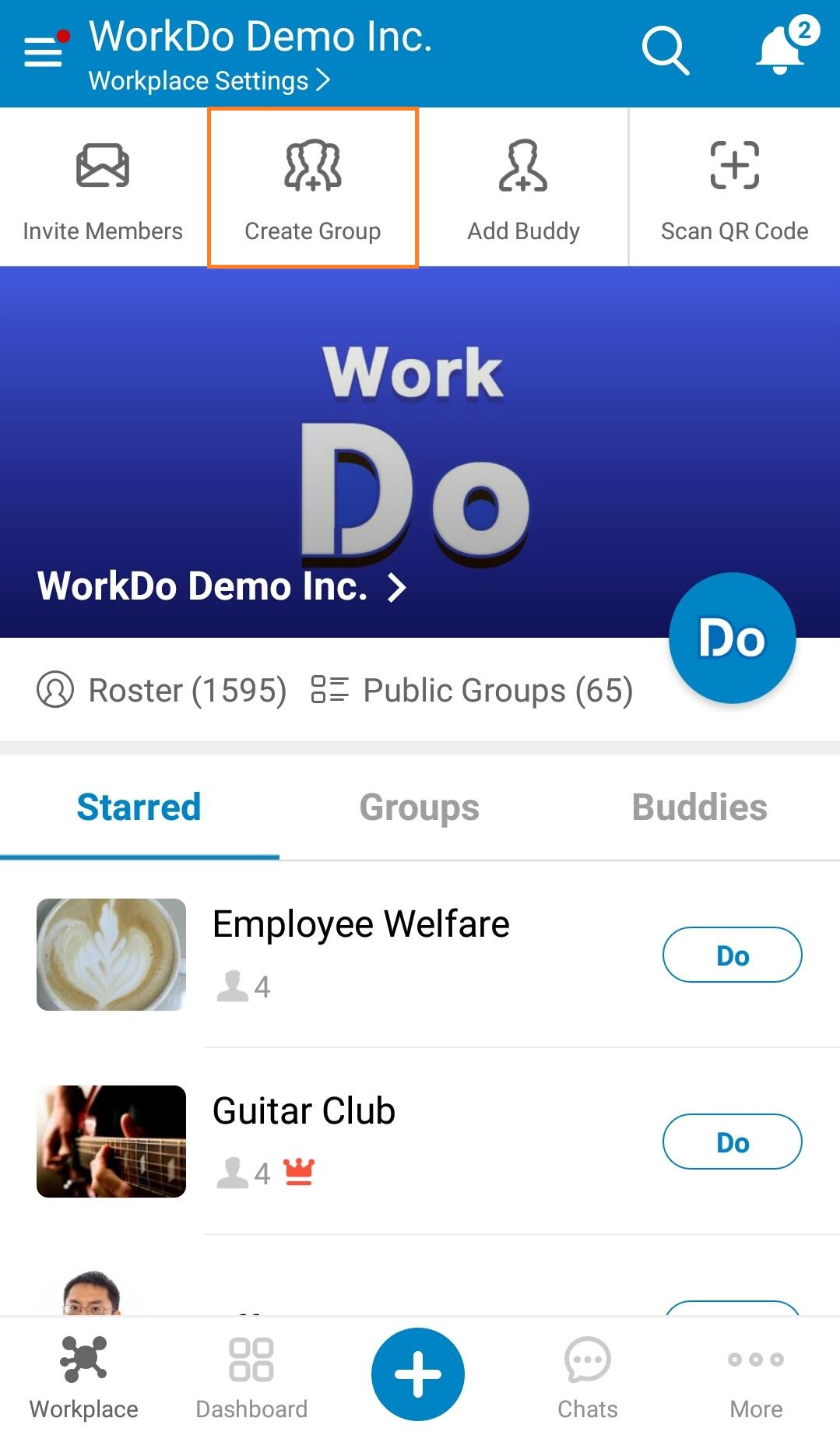 Mobile-Create Groups 01